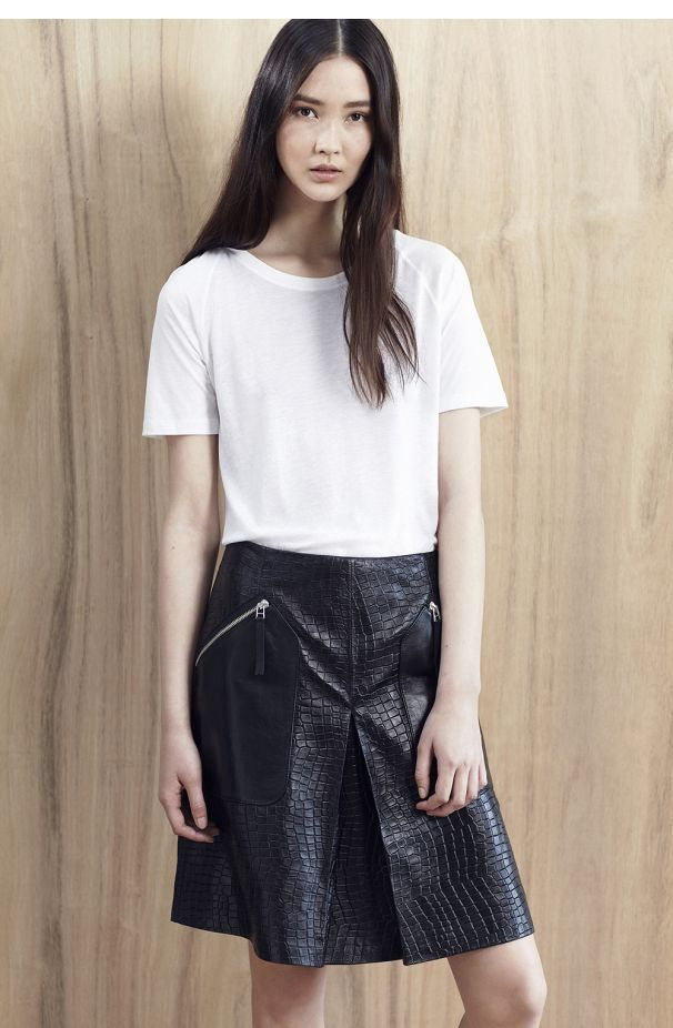 Love leather skirts. Check out my latest guide for Whistles on how best to wear one  http://www.whistles.co.uk/inspiration/ways-to-wear-leather-skirts