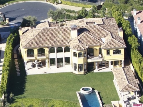 celebuzz:  Take a look inside Kim Kardashian and Kanye West's new  Bel Air Mansion by clickin above!
