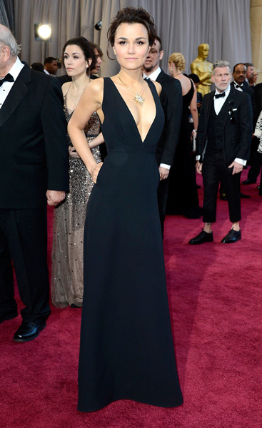 The Sexiest Woman at the Oscars: Samantha Barks