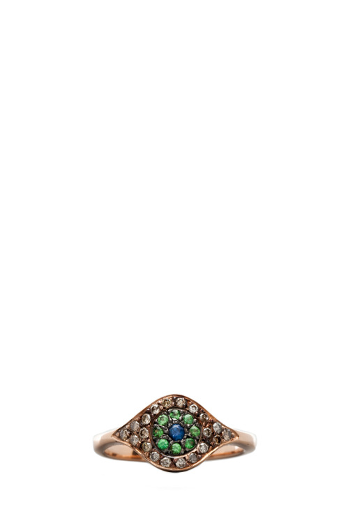 I'm OBSESSED with this evil eye ring by Ileana Makri (available via Forward by Elyse Walker)