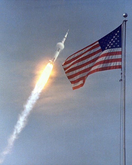 autoentropy:  Apollo 11 breaks the sound barrier on the way to the motherfucking moon