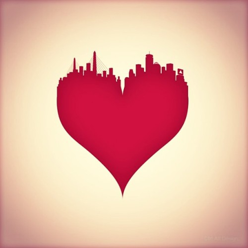 #Boston #prayforboston #lovemycity (via design you trust) (at Boston, MA)