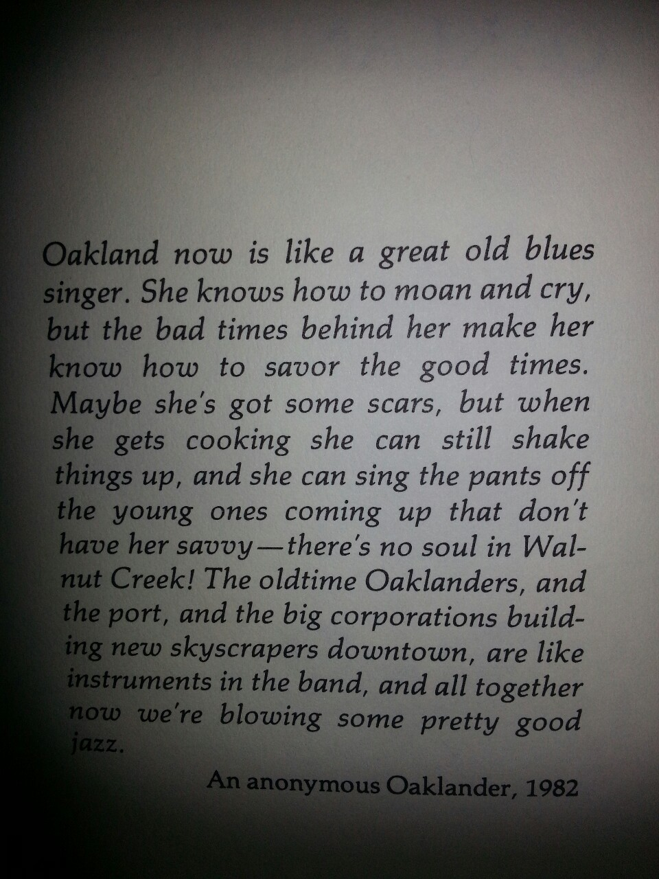 "justduckylove:  ""Oakland the story of a city"" beth bagwell"