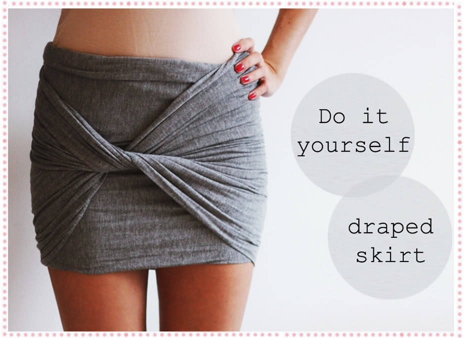 fevralenavsnryd:  Ola Brejnak showed me this DIY draped skirt tutorial from Christina Dueholm. Some color inspiro: cobalt blue or pastels to further prepare for Spring.