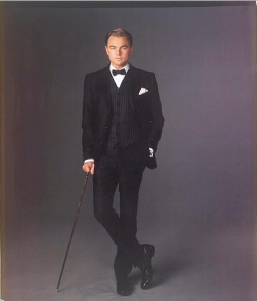 "Leonardo DiCaprio as Jay Gatsby for Baz Luhrmann's ""The Great Gatsby"", photographed by Hugh Stwert."