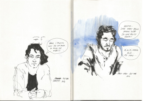 Sketchbook - Tannyna and Dario José Leite 2013