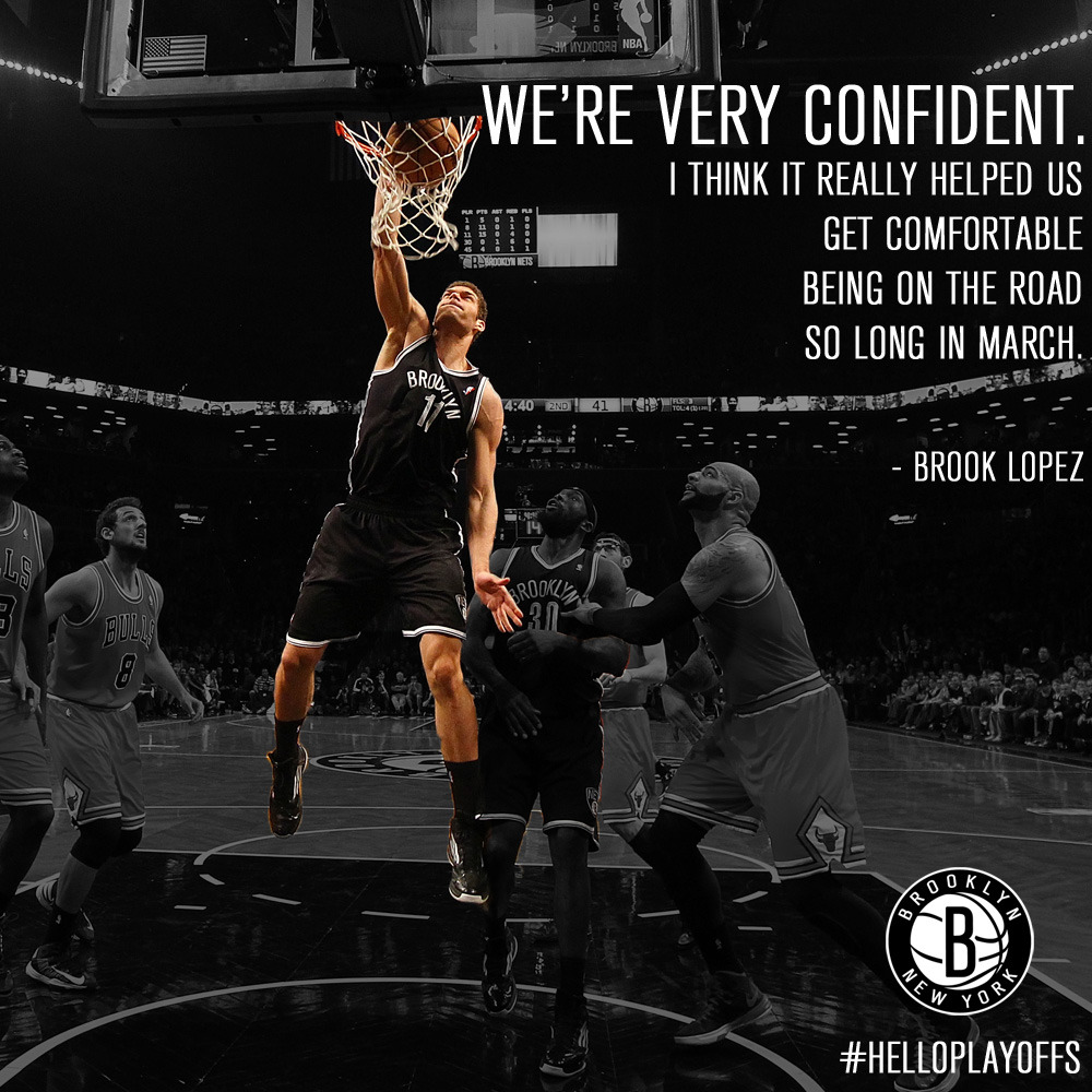 Here's what Brooklyn's Big Man had to say about heading to Chicago for games 3 and 4.