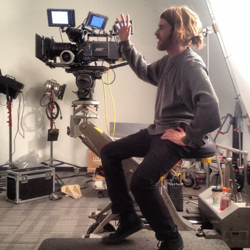 And ACTION!! 🎥🎬#assumetheposition