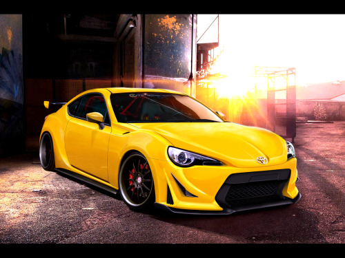 Toyota GT86 by ~dxprojects That sunday morning inspiration