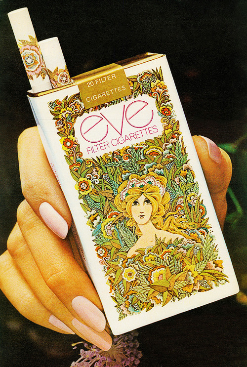 Eve Filter Cigarettes advertisement, C.1970's
