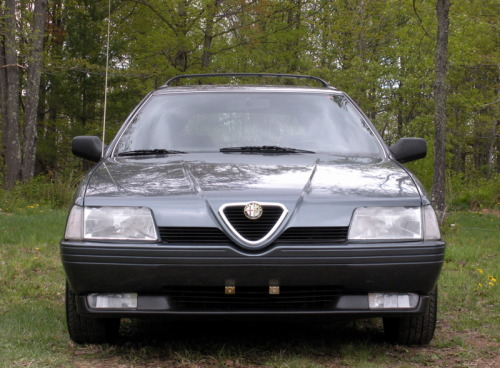 Wagonation How To:  The Alfaurus.   Mix: 2 parts Alfa 164 with 1 part Ford Taurus Wagon.   Weld feverishly. Enjoy at local car show and fill enthusiastically with Italian cured meats.  (via alfaheaven.com)