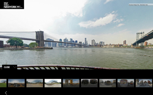 laughingsquid:  New York 360, Interactive 360 Degree Panoramas of New York City