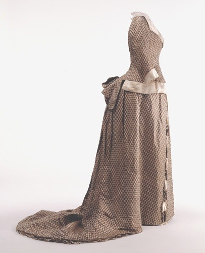 Worth dress ca. 1875 From the Wurttemburg State Museum
