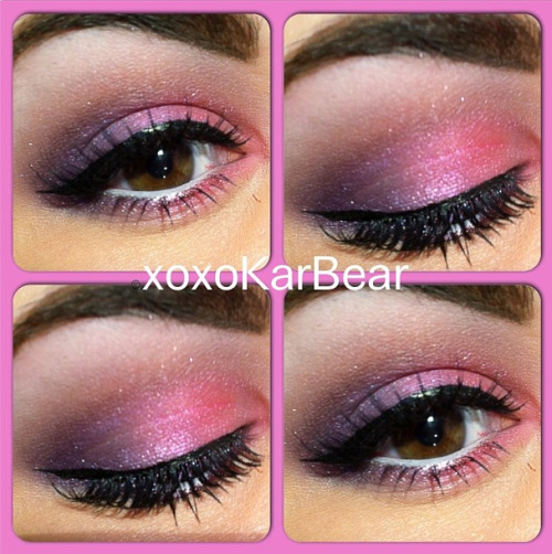 sugarpillcosmetics:  Fit for a princess! We love Kara's adorably pink look using Sugarpill Birthday Girl and Paperdoll eyeshadows. http://instagram.com/p/VUeuhUS38e/