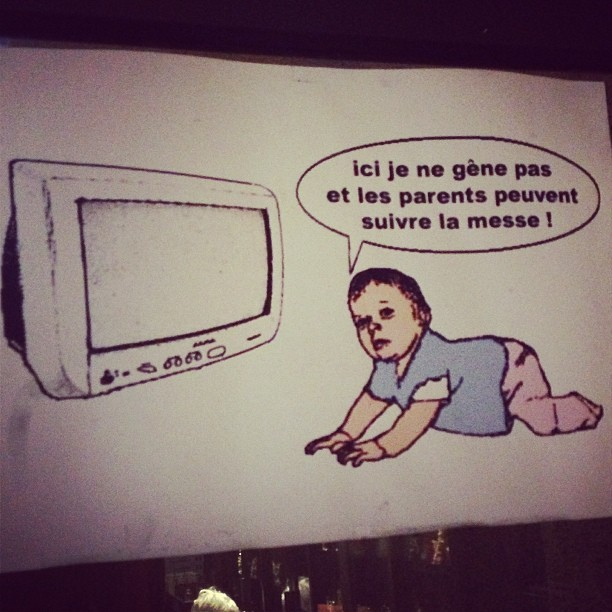 Babies are confused by television