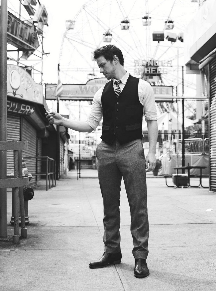 james mcavoy by carter smith for GQ magazine 2007