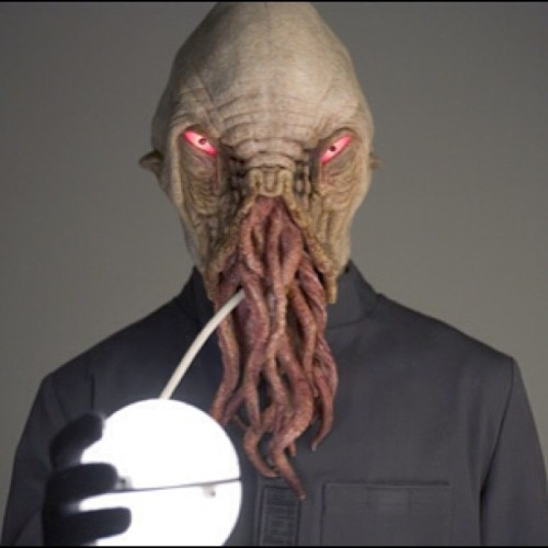 Forget the Daleks and the Cybermen. The Ood are the scariest looking monsters, from #drwho! Yikes!