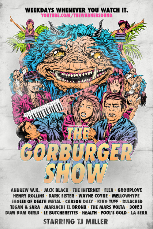 funnyordie:  The Gorburger Show: Season 2 Trailer Your favorite space monster is back to interview (and possibly eat) more of Earth's best musicians, including Henry Rollins, Flea, Jack Black, Andrew W.K., The Eagles of Death Metal, and many more! Watch the trailer now to prepare yourself for the bloodlust to come!  Hold on to your butts