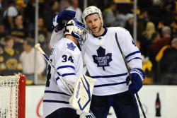 The Leafs are going back to Toronto, and taking Boston with them