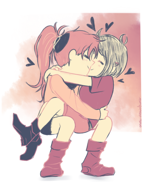 junkobabenoshima:  kyousaya for my moirail uwu color palette used