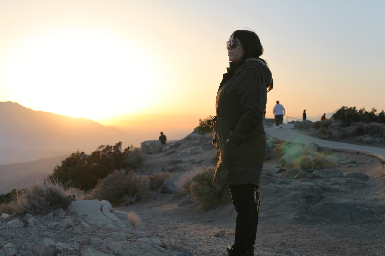 Briana at Keys View - Joshua Tree, California