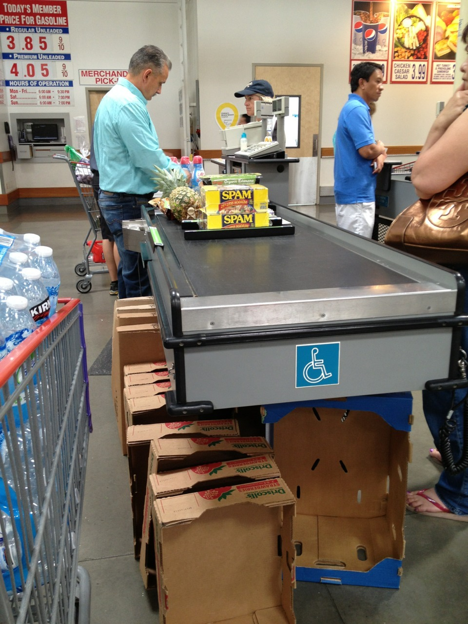 The woman who cut in front of me at Costco had this in her cart and that was it.