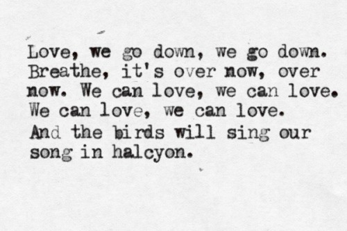 """Halcyon"" - The Paper Kites"