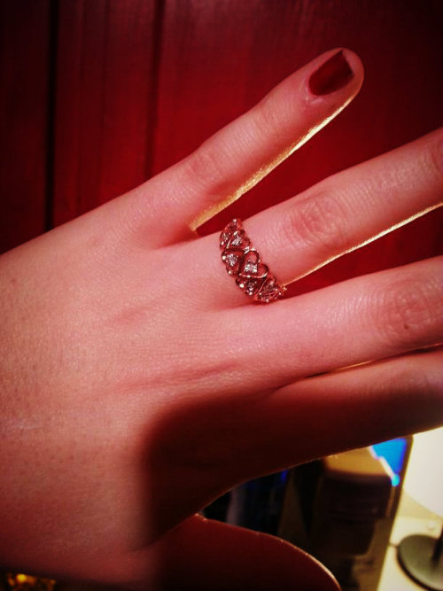 My promise ring from Justin <3