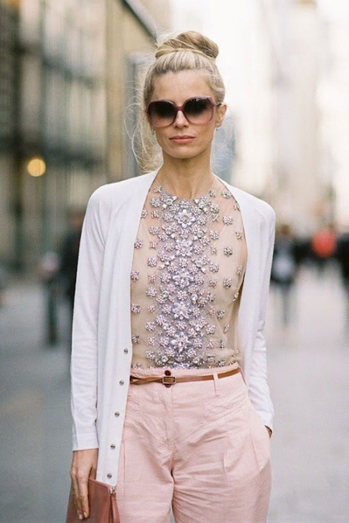 littleowl1:  Loving the embellished tee…