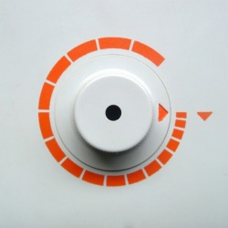 design-is-fine:  Dieter Rams / Reinhold Weiss, Braun, H7 Dial icon design, detail, 1967.
