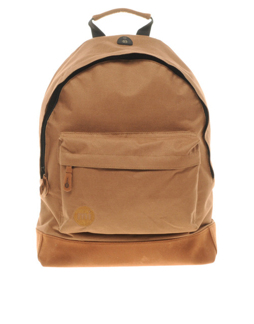 Mi-Pac Brown Backpack