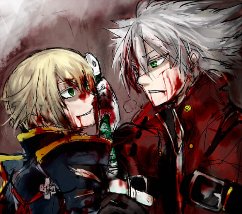 sekkas:  よぎり  I am going to admit.  Ragna is my favorite BlazBlue character by far.  I am too similar to Jin to actually be turned on by him alone.  The concept of their rivalry is a massive turn on to me due to my competitive and dominant nature… and I freely admit I am not interested in the weak.  I want the perfect rival to go head on.  To me, that is bliss.