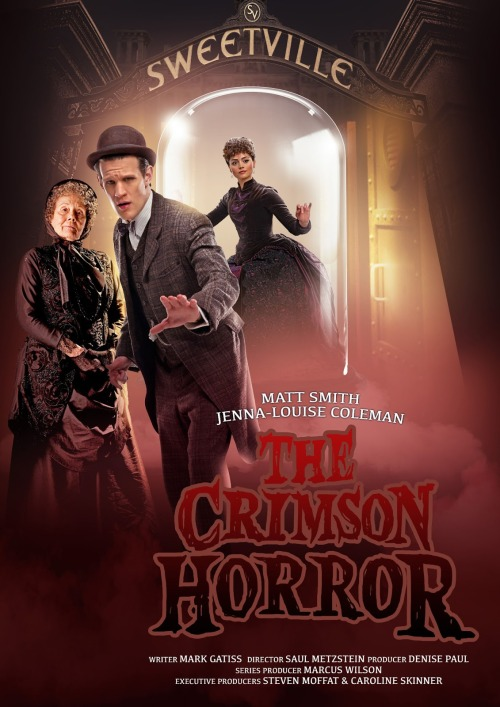 When and where is Doctor Who on this weekend? (The Crimson Horror Edition)   The international air times are as follows: Doctor Who: The Crimson Horror airs 4th May! UK - 6.30pm on BBC One and BBC One HD USA - 8pm EDT / 7pm Central on BBC America Canada - 8pm ET / 5pm PT on SPACE Australia - Sunday, 5th May at 7.30pm on ABC1. Poland - Sunday, 5th May at 6.00pm CEST (translation) on BBC Entertainment Polska. South Africa - Sunday, 5th May at 7.00pm SAST on BBC Entertainment South Africa. New Zealand: Thursday, 16th May at 8.30pm on Prime.Program your TARDISes accordingly