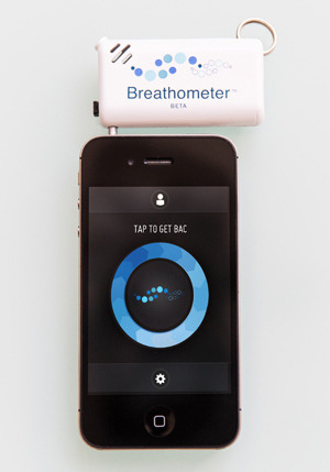 So this all over the Tech Blogs today. Off of Indiegogo a breathalyzer for your iPhone. I am sorry this is stupid, you shouldn't need a dongle iPhone attachment accessory to tell you whether or not you should drive after drinking. It's pretty simple if you drink don't drive. Way to go guys you got a good one or not. Link here http://www.indiegogo.com/projects/breathometer-drink-smart-be-safe?c=home