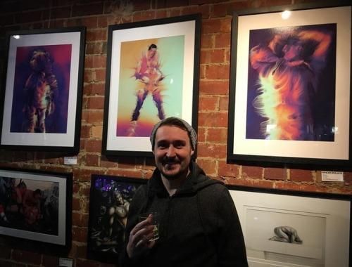 art exhibition competition menonmen2018 thelairdhotel melbourne generative new media artwork artist irl exposed brick purple stevesketch steve edwards
