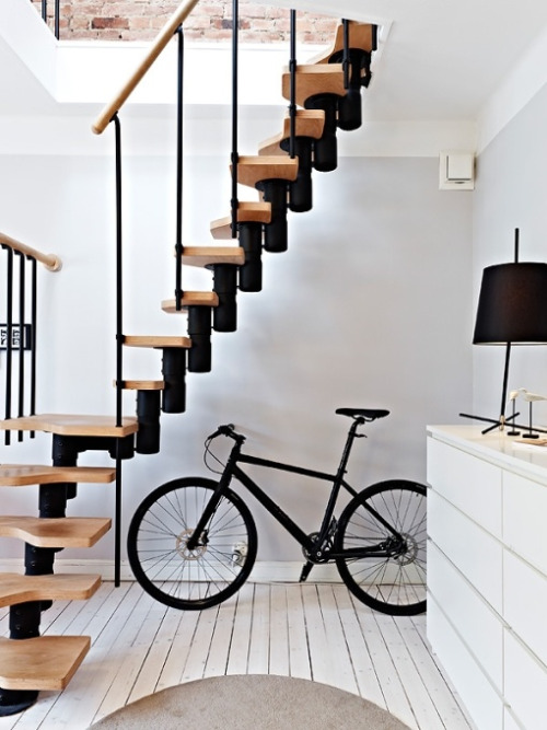 geeometree:  stairs x bicycle