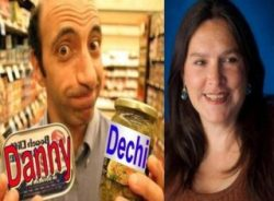 Radio Ha Ha Worldwide Podcast with hosts Danny Dechi & Rebecca Ward, plus funny music
