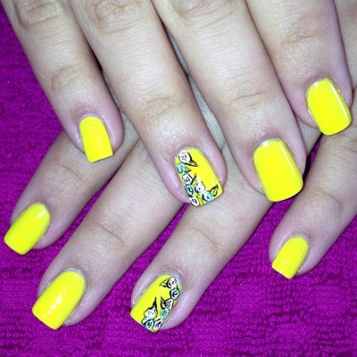 I love this #yellow by @essiepolish! #Spring #Flowers HerNailsRock #WhoRockedYa #nails #nailart #nailglam #nailgasm #nailswag #naillovers #ignails #notd #nailit #nailsmag #nailpromag #nailartclub #fashion #beauty #style #art #NY #DC #naillounge