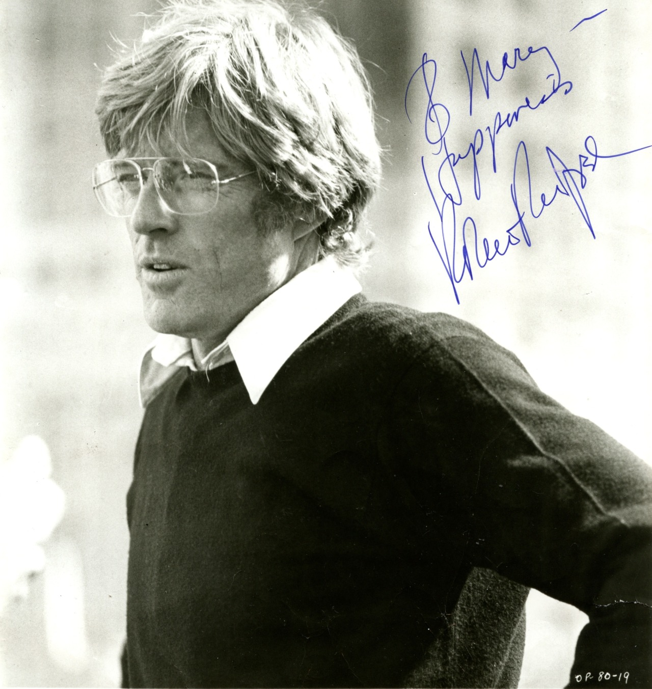 redford. so handsome. he signed this photograph for my grandmother mimi who gave it to me as a present.