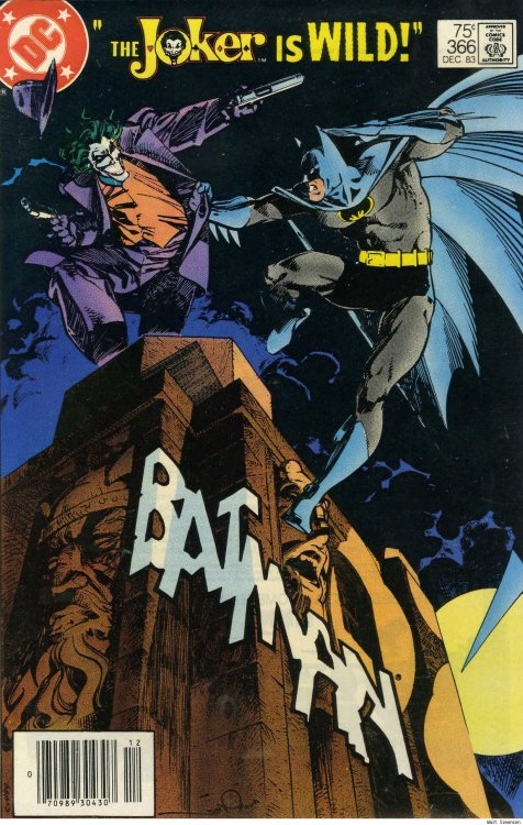 batman-blog:  The Joker vs. Batman by Walt Simonson http://batman-blog.com/