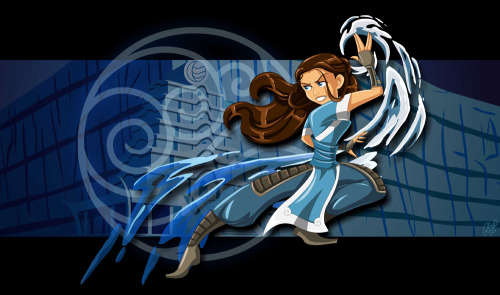 Katara of the Southern Water Tribe.