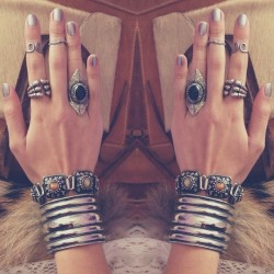Today's bling #acessories #bling #arm #candy #armcandy #hand #nails