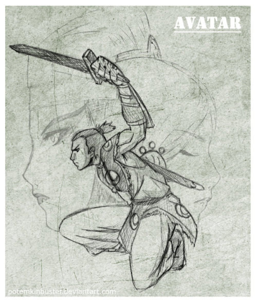 fanandboomerang:  The Swordsman Sokka by ~potemkinbuster