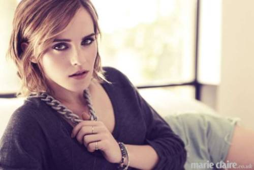 fuckyeahhotactress:  Emma Watson in Marie Claire UK magazine (February 2013)