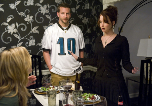 bradley cooper & jennifer lawrence, silver linings playbook.