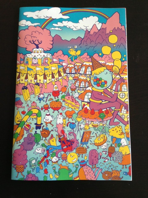 krismukai:  The Adventure Time cover I drew :o  Looks GREAT! gotta get me one!