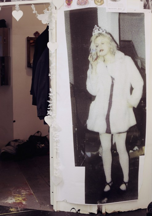 little-trouble-grrrl:  Queens of the Underground Behind the scenes of Meadham Kirchhoff's Fall/Winter 2013 collection.