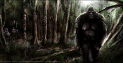 patterson Gimlin bigfoot surprise by *Sebastien-Ecosse
