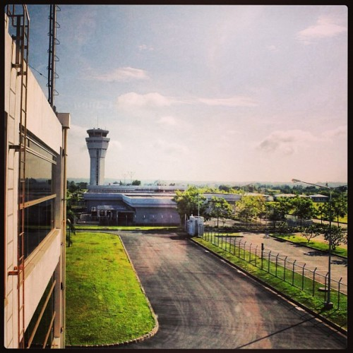 Iloilo Airport and Iloilo Aerodrome Control Tower. #aviation #visayas #philippines #photography #iloilo #airport #landscape