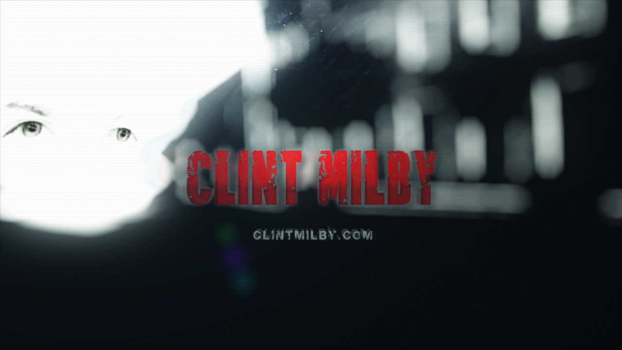 Screen grab from new promo video on ClintMilby.com